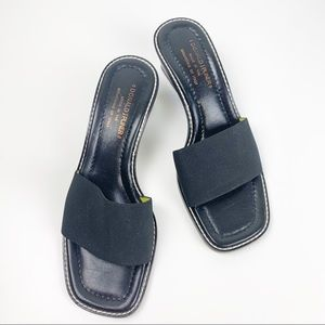 Donald Pliner Square Toe Classic Heeled Sandals